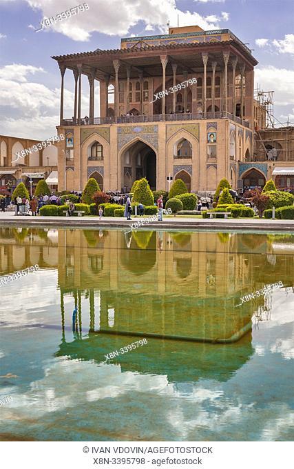 Ali Qapu palace, Isfahan, Isfahan Province, Iran