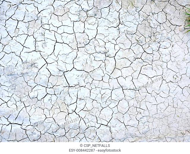 Mud cracks dryness