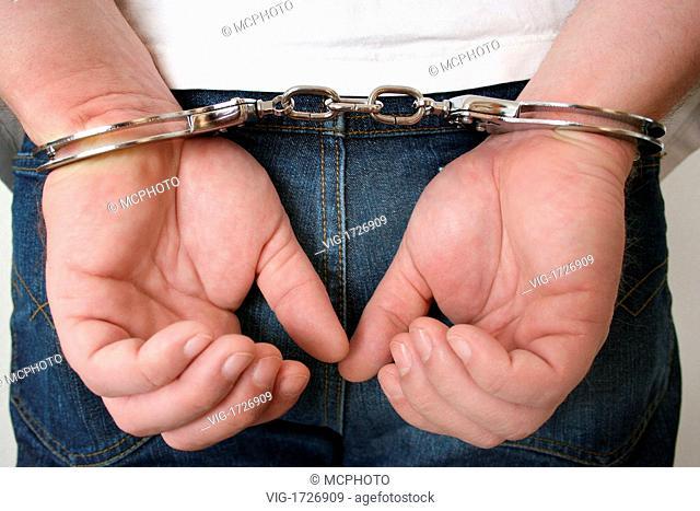 man in handcuffs - 01/01/2009
