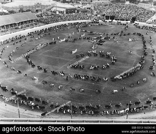 The grand Parade. April 6, 1955