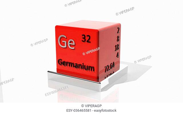 Germanium, 3d chemical element of the periodic table