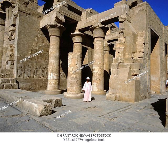 Kom Ombo Temple, near Aswan, Egypt