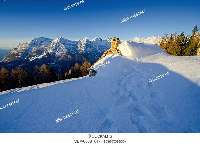 Divedro valley, Ossola, Piedmont, Italian alps