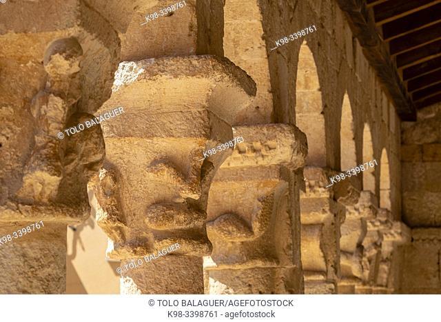 Iglesia de San Miguel , 1081, San Esteban de Gormaz, Soria, Comunidad Autónoma de Castilla, Spain, Europe