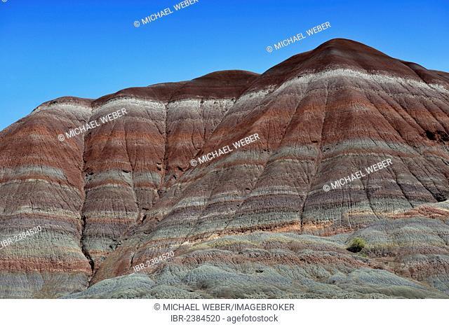 Old Paria, Pahreah Townsite, movie set, Painted Desert, Vermilion Cliffs, various rock strata of the Rimrocks, Grand Staircase-Escalante National Monument