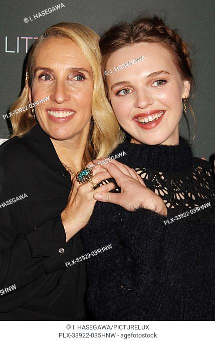 """Sam Taylor-Johnson, Odessa Young 12/04/2019 The Los Angeles Special Screening of """"""""A Million Little Pieces"""""""" held at The London West Hollywood at Beverly Hills..."""