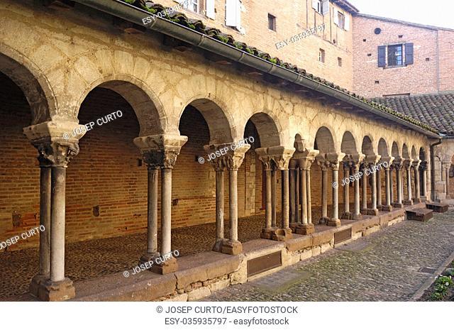 San Salvi Cloister Albi Tarn France