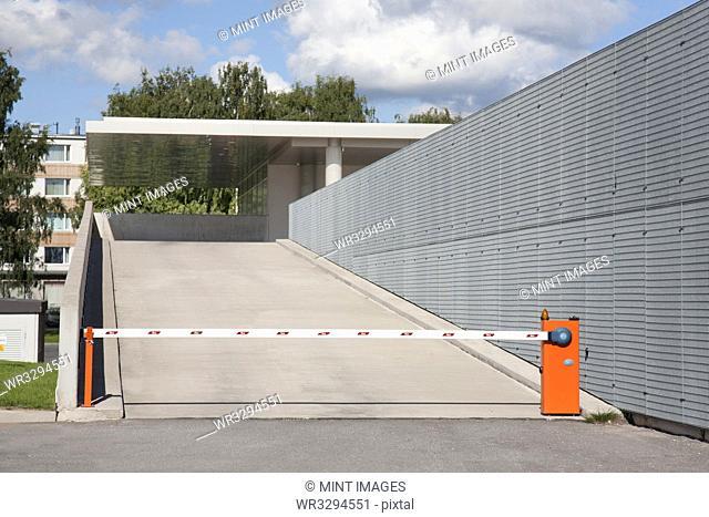 Parking Lot Entrance Ramp
