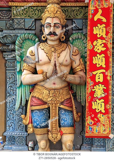 Singapore, Waterloo Street, Shri Krishnan hindu temple,