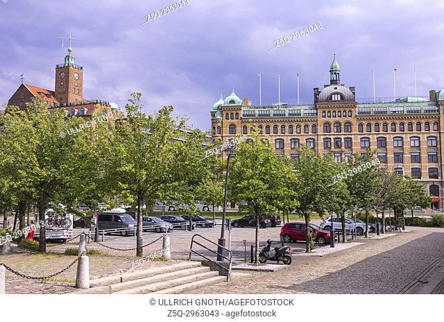 Navigationsskolan and Hetziahuset in Gothenburg, Bohuslan County, Sweden