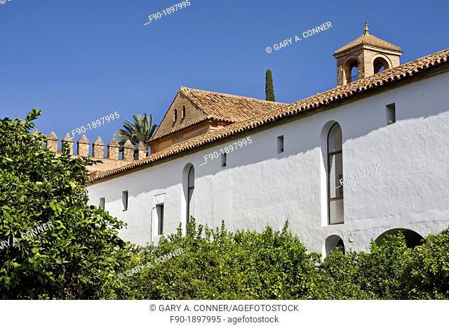 Alcazar de los Reyes Cristanos-garden-Cordoba-Spain