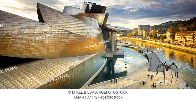 Guggenheim Museum of Art  Bilbao, Biscay, Basque Country, Spain