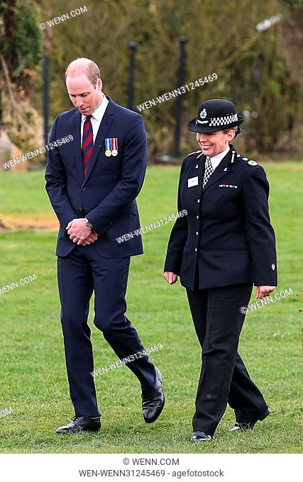 Prince William, Duke of Cambridge attends the Official Opening of the New Remembrance Centre at the National Memorial Arboretum in Staffordshire Featuring:...