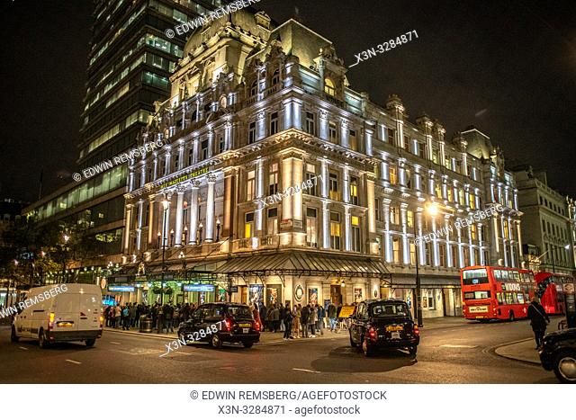 Her Majesty's theater near Piccadilly Circus - London