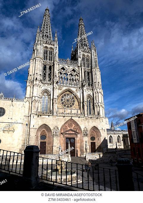 Catedral de Santa María. Burgos. Castilla León. España