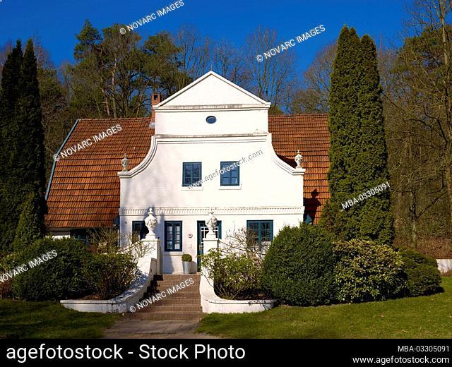 Barkenhoff, Heinrich Vogeler Haus, Worpswede, Lower Saxony, Germany