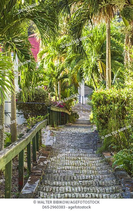 U. S. Virgin Islands, St. Thomas, Charlotte Amalie, The 99 Steps