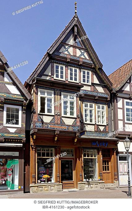 Old Town Hall, market square, Celle, Lower Saxony, Germany