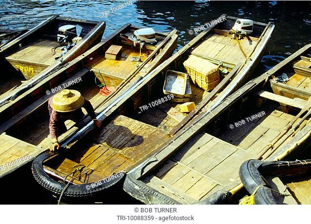 Macau Fishing Boats