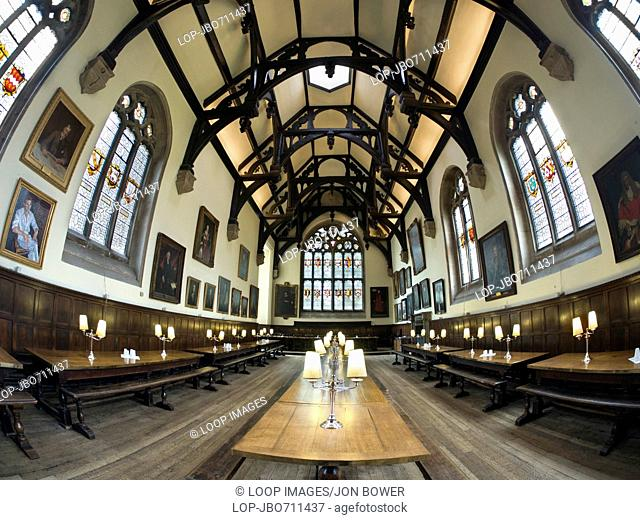 The Great Hall of Wadham College