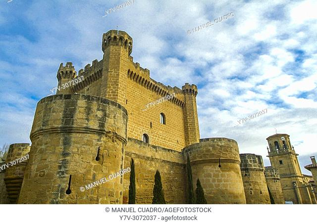 Bodega Castillo de Sajazarra, Denominación de Origen Rioja. Sajazarra, La Rioja, Spain