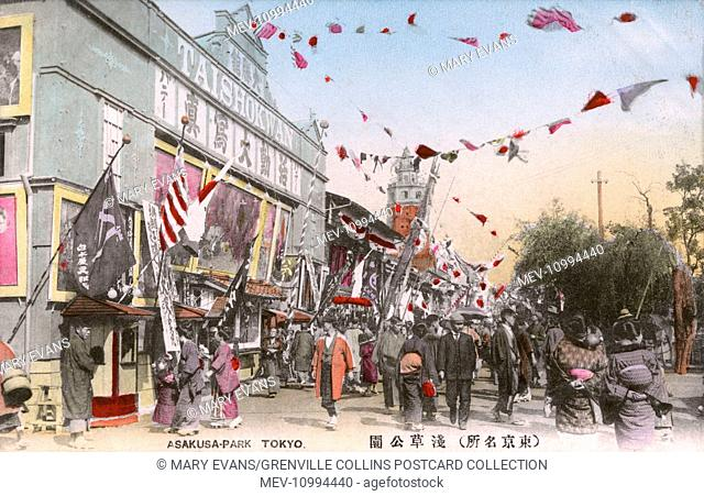 For most of the twentieth century, Asakusa was the major entertainment district in Tokyo. The rokku or Sixth District was in particular famous as a theatre...