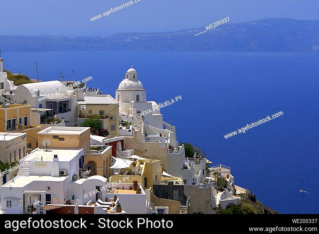 Greece - Cyclades Islands - Santorini - Oia....