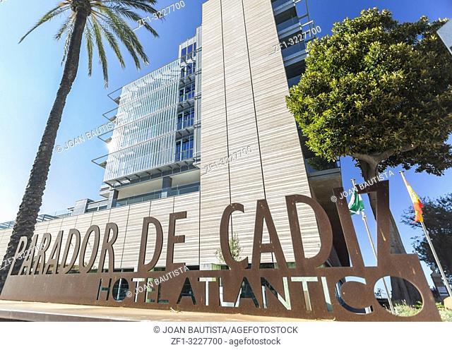 Architecture building, Hotel Atlantico, Parador de Cadiz, Cadiz, Andalucia