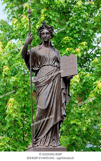 French Republic allegorical statue