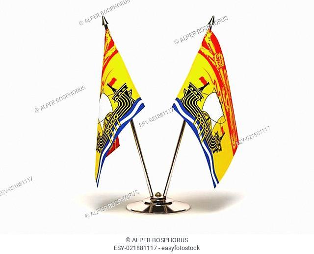 Miniature Flag of New Brunswick