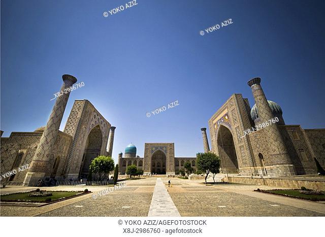 Uzbekistan, Samarkand, Registan