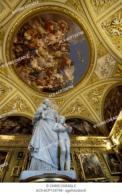 Charity by Lorenzo Bartolini, Galleria Palatina i the Palazzo Pitti, Florence, Italy