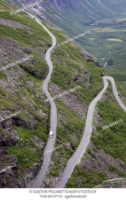 Trollstigen, National Tourist Route Geiranger - Trollstigen, Scandinavian, Norway