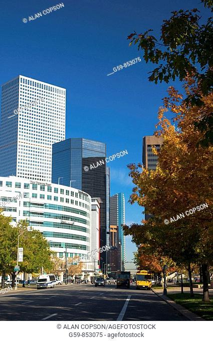 USA, Colorado, Denver, Broadway