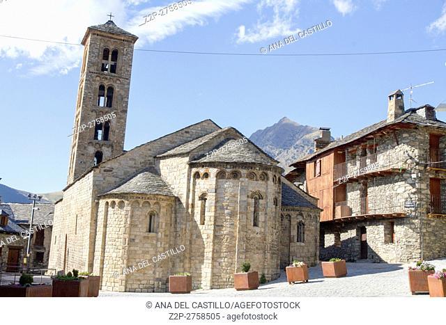 Romanesque church of Santa Maria de Taull, Catalonia, Spain