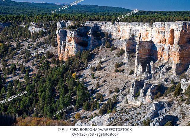 La Galiana viewpoint Rio Lobos Nature PArk Canyon  Ucero, Soria  Castile-Leon  Spain