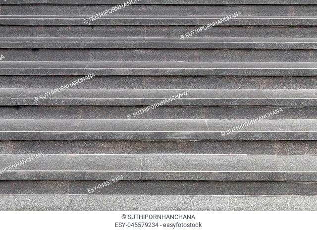 Staircase to creative texture and pattern for design and decoration isolate on background.Copy space