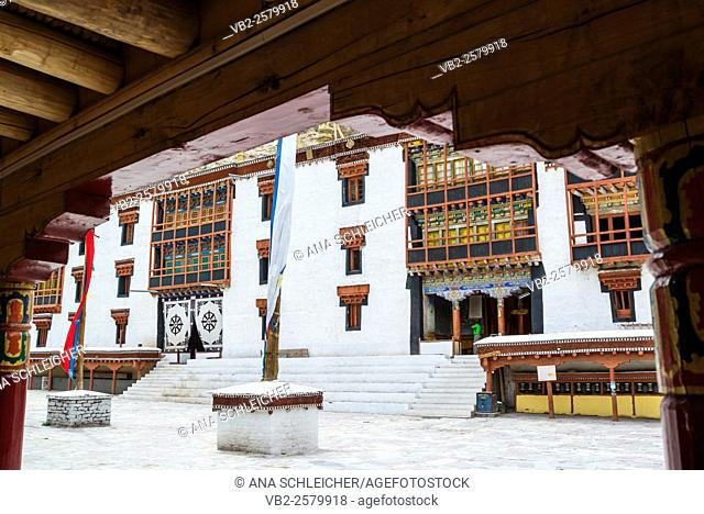 Main building of Hemis gompa. Indus valley, Ladakh (india)