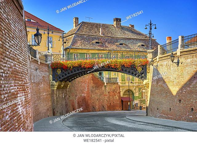 Iron Bridge, Liars Bridge, Sibiu, Transylvania, Romania
