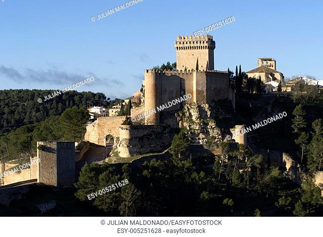 Alarcon Castle Parador and in turn, Alarcón, Cuenca, Castilla La Mancha, Spain