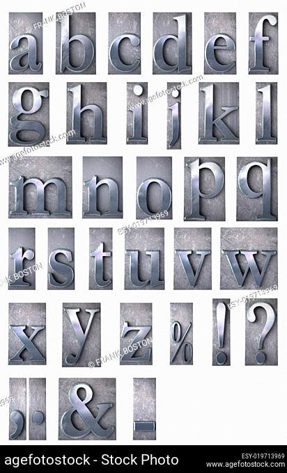 Typescript alphabet