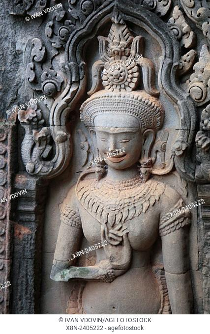 Thommanon temple (12th century), Angkor, Cambodia
