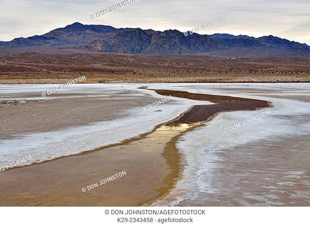Cottonball Basin, Death Valley National Park, California, USA