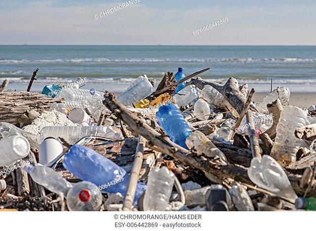 Problematic flotsam on the Adriatic coast