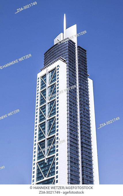 Millennium Tower; brand new modern architecture in Business Bay, a business capital as well as a freehold city in Dubai, United Arab Emirates