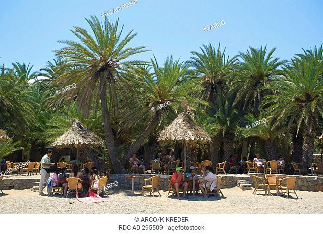 Palm Beach Vai, Crete, Greece