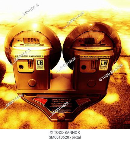 Parking meters, Urbana, Illinois