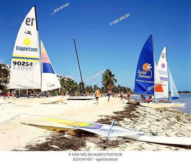 Smathers Beach, Key West. Florida, USA