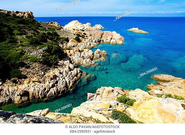 Cove, Cala Tinnari, Sardinia, Italy