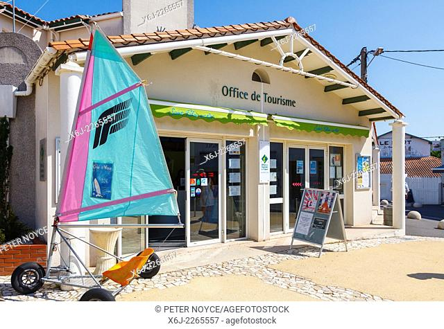 Tourist office exterior at Saint-Palais-sur-mer